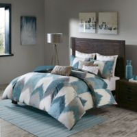 INK+IVY Alpine Full/Queen Duvet Cover Mini Set in Aqua