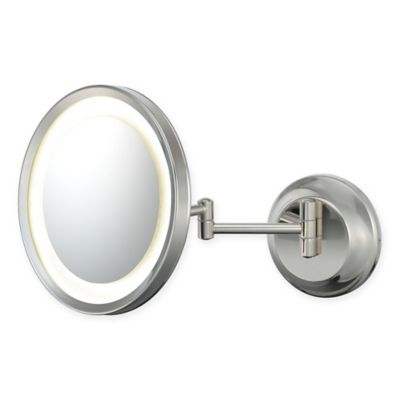 Buy Kimball Amp Young Square 3x Led Mirror In Polished