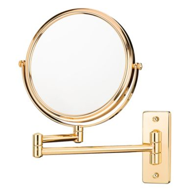 vanity mirror on stand. Kimball  Young Round Free Standing 7 Inch 5X Mirror in Rose Gold Buy Makeup Mirrors from Bed Bath Beyond