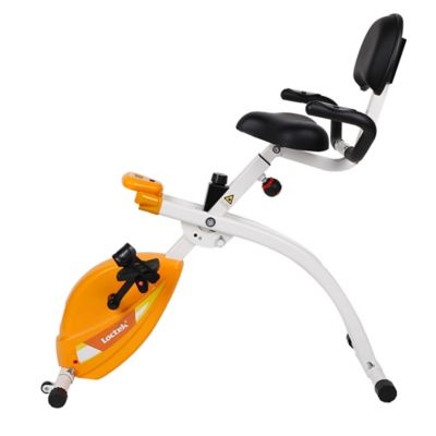 Buy Foldable Exercise Bike Work Station In Red From Bed