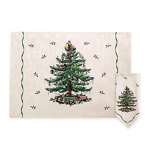 Spode Christmas Tree Placemats And Napkins