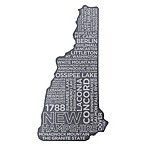 Top Shelf Living New Hampshire Etched Slate Cheese Board
