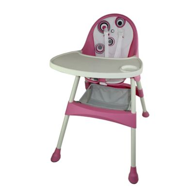 High Chairs U003e Baby Diego High Chair In Pink