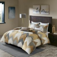 INK+IVY Alpine King/California King Comforter Set in Yellow