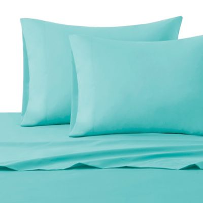 Intelligent Design Microfiber Full Sheet Set In Blue