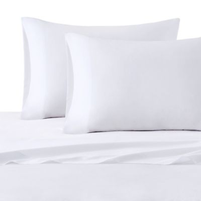 Intelligent Design Microfiber Twin Sheet Set In White