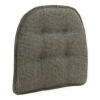 Tufted Grassland Chair Pad in Smoke with Gripper®