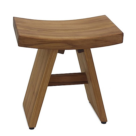 image of Haven™ Asia Teak Stool