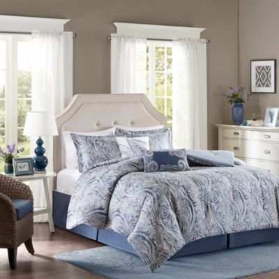 Harbor House™ Stella 6 Piece California King Comforter Set In Blue