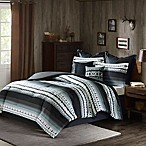 Woolrich® Rooftop Reversible Queen Comforter Set in Grey