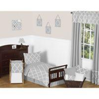 Sweet Jojo Designs Trellis 5-Piece Toddler Bedding Set in Grey/White