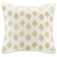 INK+IVY Nadia Dot European Pillow Sham in Gold