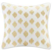 INK+IVY Nadia Dot European Pillow Sham in Gold