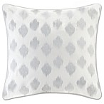 INK+IVY Nadia Dot European Pillow Sham in Silver