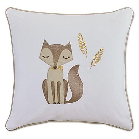 20 Inch Square Decorative Pillows : HipStyle Bashful Vixie 20-Inch Square Decorative Pillow in Khaki - Bed Bath & Beyond