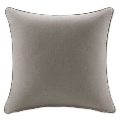 Madison Park Pacifica 20-Inch Square Throw Pillow in Taupe  sc 1 st  Bed Bath u0026 Beyond : chaise pillow - Sectionals, Sofas & Couches