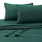 Tribeca Living 110 GSM Solid Microfiber Extra Deep Pocket Twin XL Sheet Set in Green
