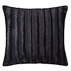 Madison Park Duke 20-Inch Square Throw Pillow in Black