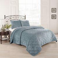 Beauty Rest® Collette King Coverlet Set in Blue