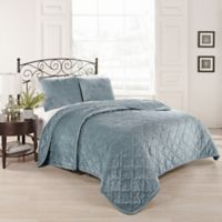 Beauty Rest® Collette King Coverlet Set in Blue