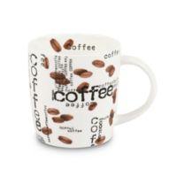 """Konitz """"Coffee"""" Collage Mugs (Set of 4)"""