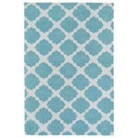 Kaleen Lily & Liam Aegean Patio 3-Foot x 5-Foot Area Rug in Turquoise