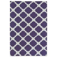Kaleen Lily & Liam Aegean Patio 5-Foot x 7-Foot Area Rug in Purple