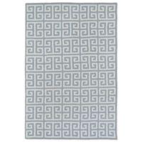 Kaleen Lily & Liam Greek Tile 4-Foot x 6-Foot Area Rug in Grey