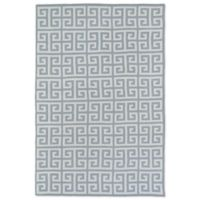 Kaleen Lily & Liam Greek Tile 5-Foot x 7-Foot Area Rug in Grey