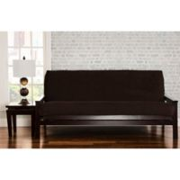 SIScovers® Padma Queen Futon Slipcover in Coffee Bean