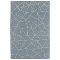 Kaleen Lily & Liam 5-Foot x 7-Foot Linear Directions Area Rug in Grey