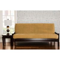 SIScovers® Padma Full Futon Slipcover in Old Gold