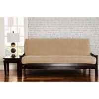 SIScovers® Padma Queen Futon Slipcover in Parchment