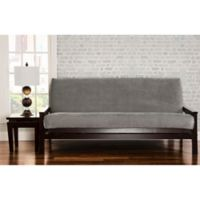 SIScovers® Padma Full Futon Slipcover in Smoke