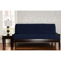 SIScovers® Padma Queen Futon Slipcover in Blue Bell