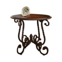 Steve Silver Co. Crowley End Table in Cherry