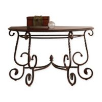 Steve Silver Co. Crowley Sofa Table in Cherry