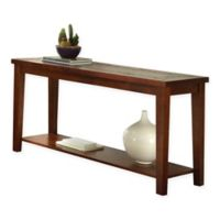 Steve Silver Co. Davenport Sofa Table in Brown