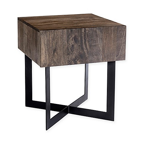 image of Moe's Home Collection Tiburon Side Table in Natural Finish