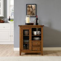 Crosley Furniture Sienna Accent Cabinet in Moroccan Pine