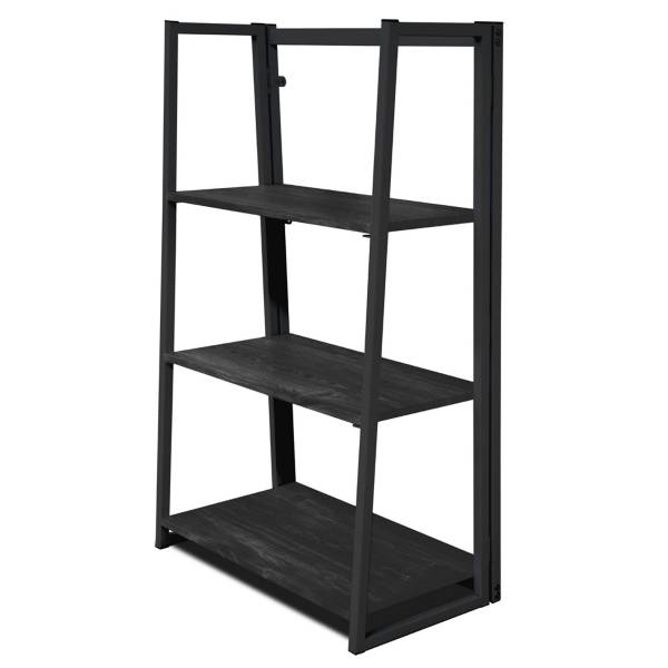 Product Image For Urban Folding Bookshelf In Black 2 Out Of