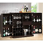 Baxton StudioStamford Bar Cabinet in Dark Brown