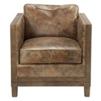 Moe's Home Collection Darlington Club Chair in Brown