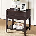 Baxton Studio Morgan Nightstand in Dark Brown