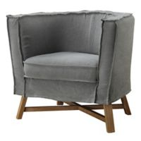 Moe's Home Collection Grand Club Chair in Grey