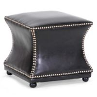 Wholesale Interiors Inc. Ellastone Ottoman in Brown