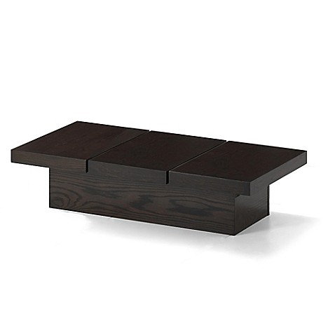 Baxton Studio Cambridge Coffee Table In Dark Brown Bed Bath Beyond