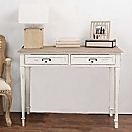Baxton Studio Dauphine Writing Desk in White