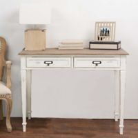 Wholesale Interiors Inc. Dauphine Writing Desk in White