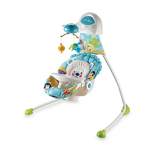 fisher price precious planet open top baby cradle swing bed bath